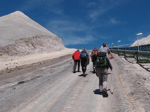 Aufstieg auf Monte Kali
