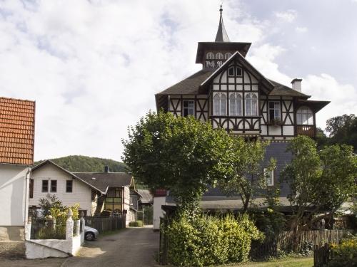 Sommerfrische-Architektur in Schwarzburg