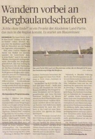 Artikel Eschweiler Zeitung