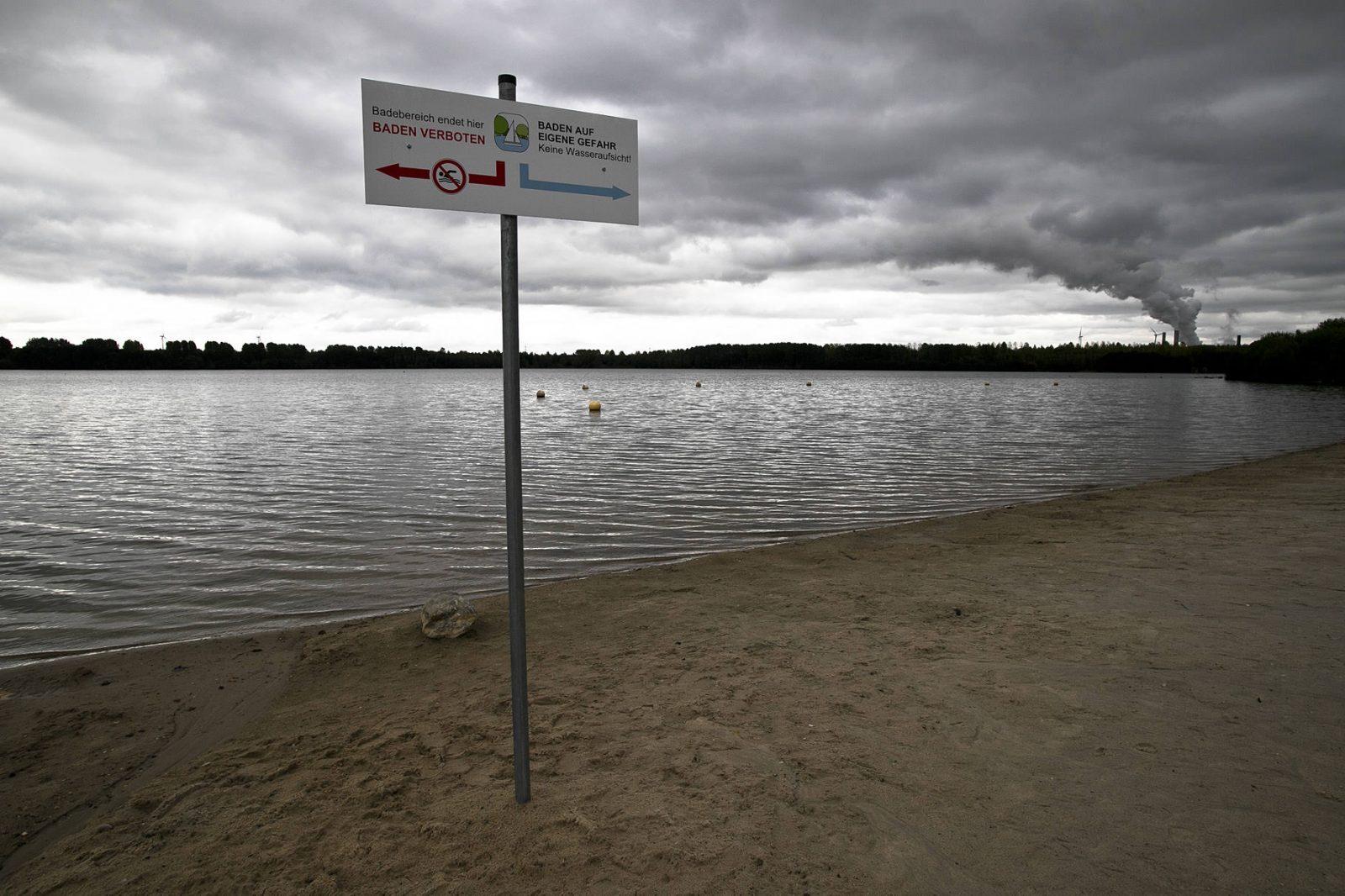 Blausteinsee Uferzone