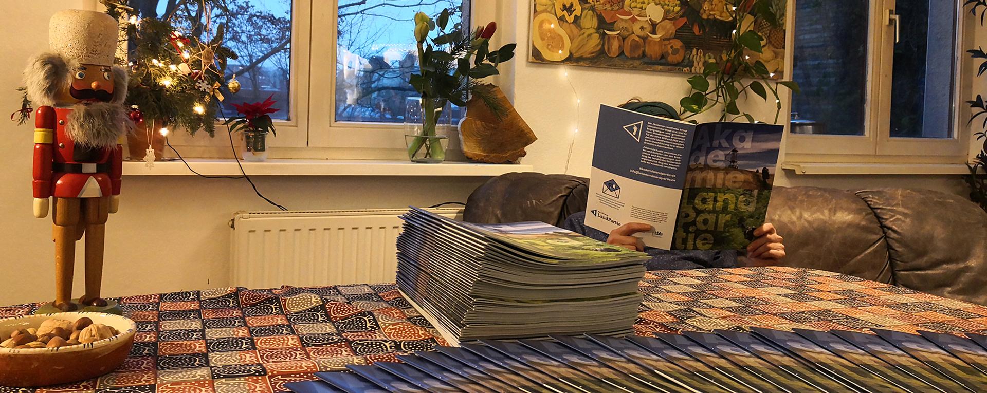Broschüre Akademie LandPartie 2019 & 2020