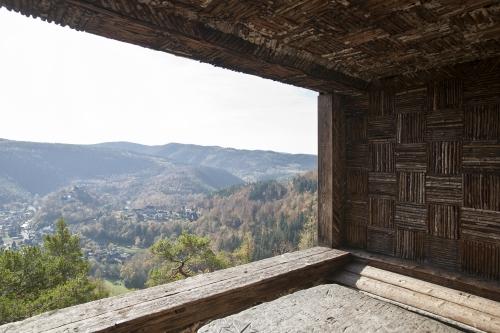 Ausblick auf Schwarzburg
